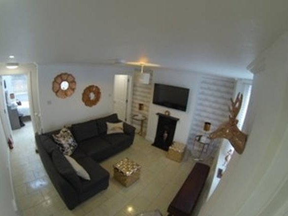 Living Room Aerial View